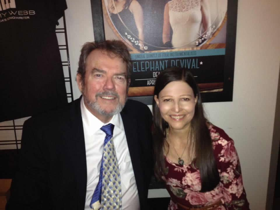 Cindi and Jimmy Webb