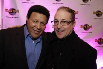 Ray with Chubby Checker
